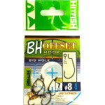 Крючки HITFISH BH offset с  большим ухом (как у OWNER S-59)