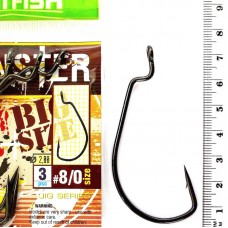 Крючки HITFISH Monster Offset Hook